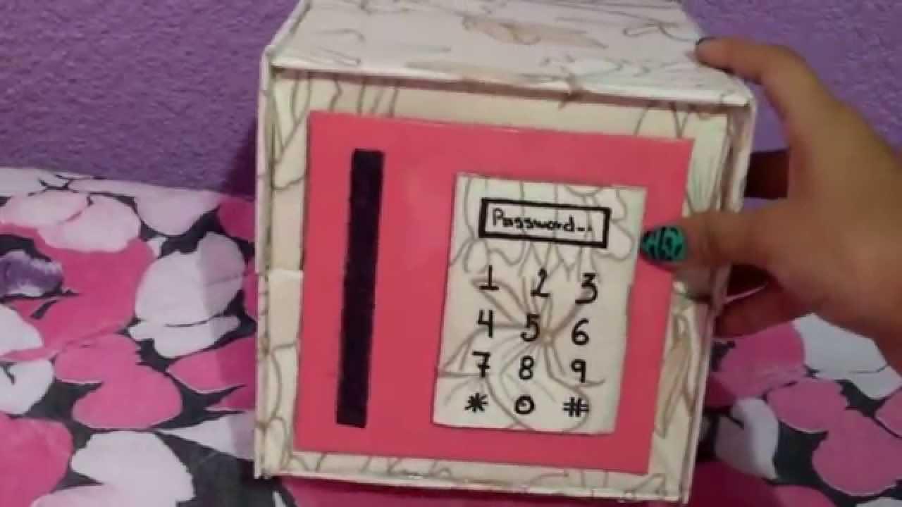 Diy caja para regalar youtube for Cajas para manualidades