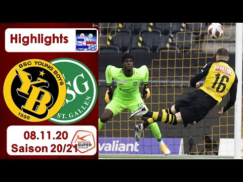 Young Boys St. Gallen Goals And Highlights
