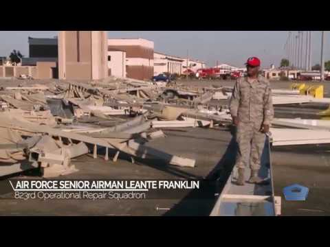 Video update on Tyndall Air Force Base