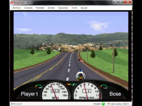 Road Rash - 3DO Interactive Multiplayer Panasonic - emulador