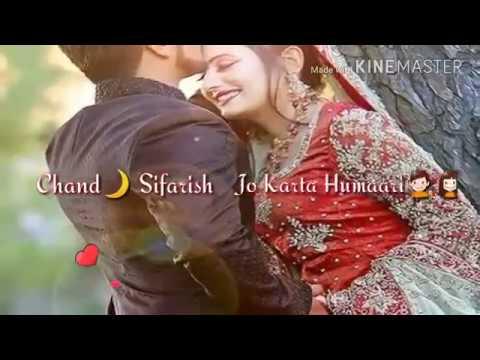 Chand Sifarish - Lyrics ~ Fanaa Movie | Aamir Khan & Kajol |