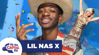 Lil Nas X Gets The Surprise Of His Life, From Ellie Goulding 😲 | FULL INTERVIEW | Capital