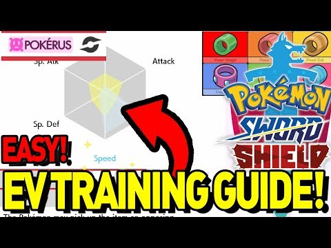 EV TRAINING GUIDE! How To EV Train Your Pokemon For Competitive! Pokemon Sword And Shield!