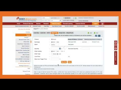 ICICIdirect Margin Trade