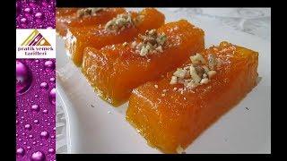 Bal Kabağı Tatlısı Tarifi- Pratik Yemek Tarifleri