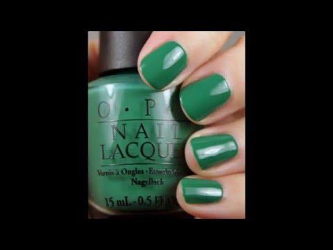 OPI Hong Kong nail polish collection