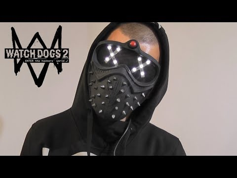 How to make a mask Wrench with a luminous eyes\Watch Dogs 2