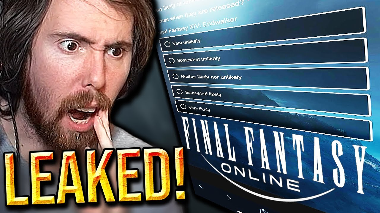 Blizzard Scared of FFXIV!? Asmongold on Leaked WoW Survey