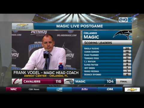 Frank Vogel -- Orlando Magic vs. Cleveland Cavaliers 03/11/2017
