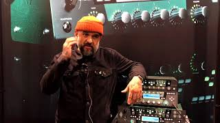 Kemper Chat @NAMM 2018 - Robert Ortiz - Guitar Tech with Blink 182, Pharell etc.