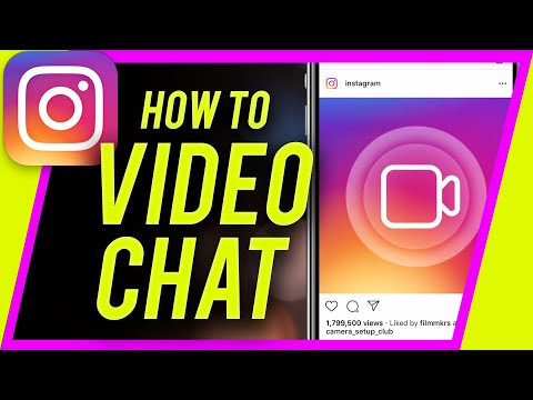 How To VIDEO CHAT On Instagram (New Video Call Features)