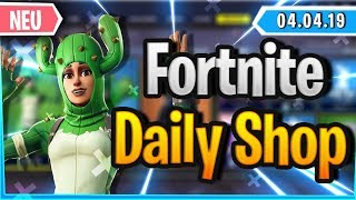 Fortnite Daily Shop 'NEW' 🌵 KAKTUS SKIN - SELTENER EMOTE (4 avril 2019)
