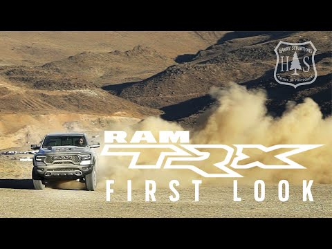 Harry Situation's Exclusive First Drive of Ram TRX- Is It A Raptor Killer?