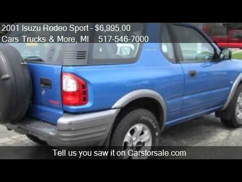 2001 Isuzu Rodeo Sport S V6 4wd Hard Top For Sale In