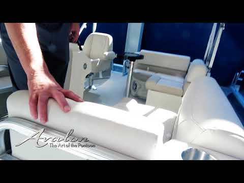 2018 Pontoon Boat ENTRY-LEVEL LUXURY DETAILS | Avalon Venture Model | Avalon Pontoons