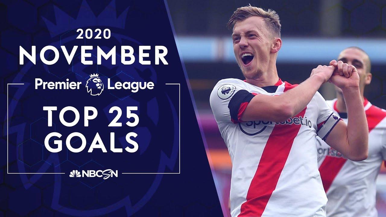 Download Top 25 Premier League goals from November 2020 | NBC Sports