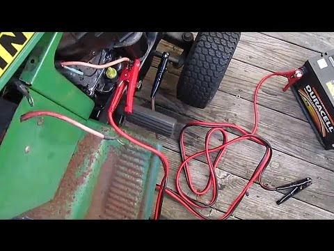 Quickest Fastest Way To Start Your Riding Lawn Mower Jump By P Everything D