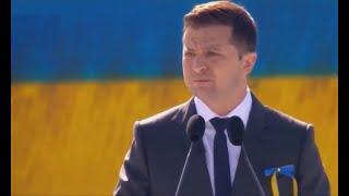 Красивая речь Зеленского про историю, Крым, Донбасс