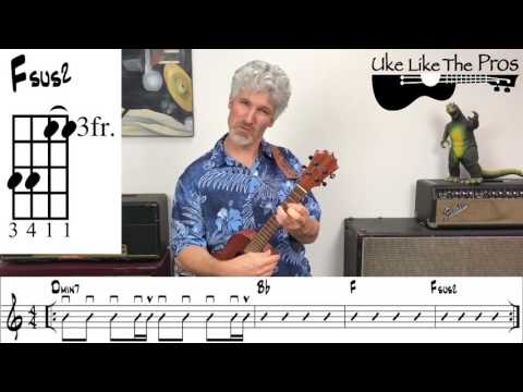 The Scientist Coldplay Ukulele and Singing Lesson (with Chords and Notation)