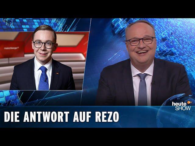 """Philipp Amthor rechnet ab mit Rezos """"Die Zerstörung der CDU""""   heute-show vom 24.05.2019"""