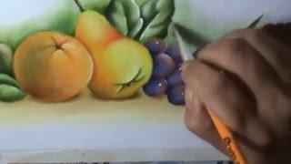 Projeto Laranja, pêra e uvas por Cristina Ribeiro