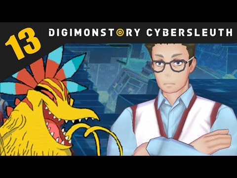 Digimon Story: Cyber Sleuth PS4 / PS Vita Let's Play Walkthrough Part 13 - Mysterious Digital Face