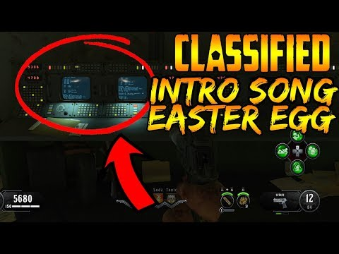 CLASSIFIED EASTER EGG SONG GUIDE BLACK OPS 4 ZOMBIES