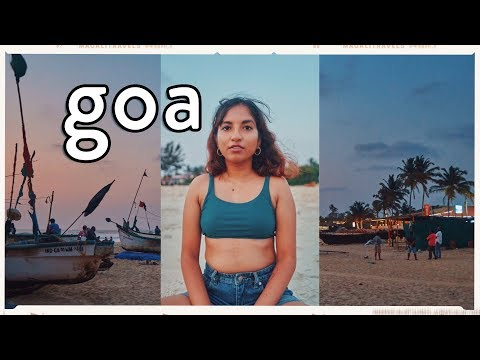 Chill Goa Beach Day 🌊 | Travel Vlog // Magali Vaz