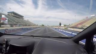 Fiesta ST COBB Stage 3 First ever quarter mile with slip