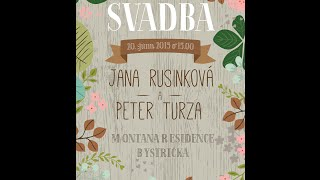 Wedding Peterko a Jajka