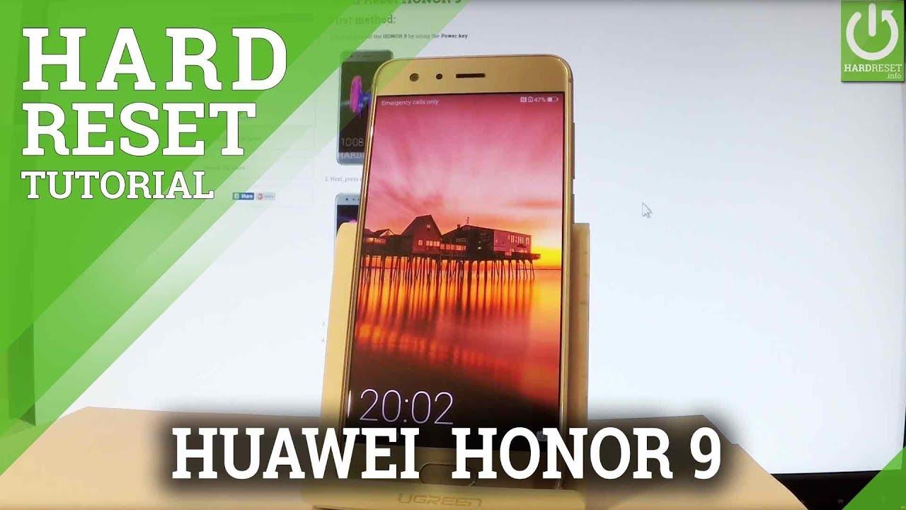Mobile Info: Huawei P10 Reset