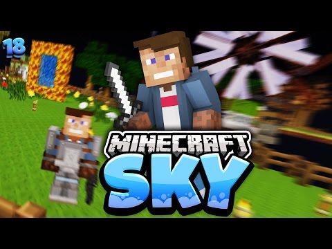 REWI TÖTET MICH!!   Minecraft SKY #18   Dner