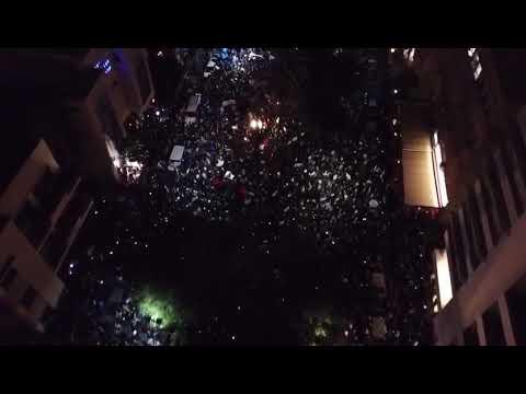 """ההפגנה ברוטשילד 16.12 - צילום: עמותת """"למען הצדק והדמוקרטיה"""""""