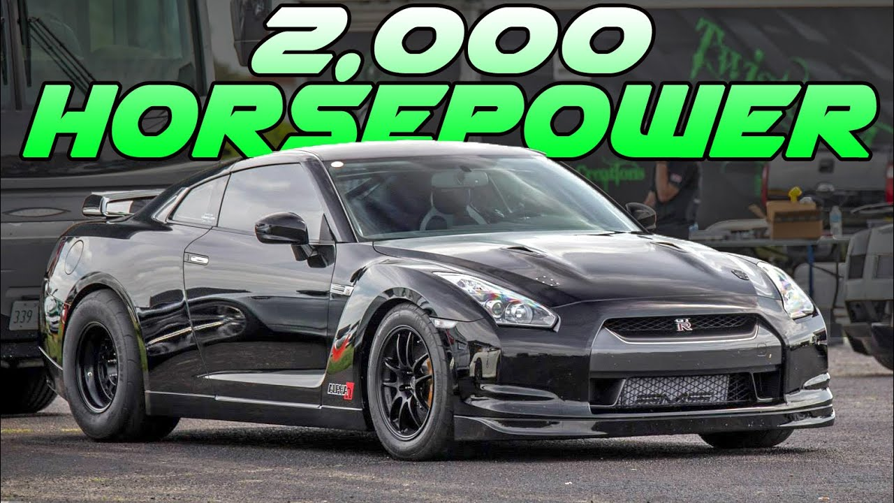 Ams S 2 000hp Gt R 207mph Shakedown Pass Youtube