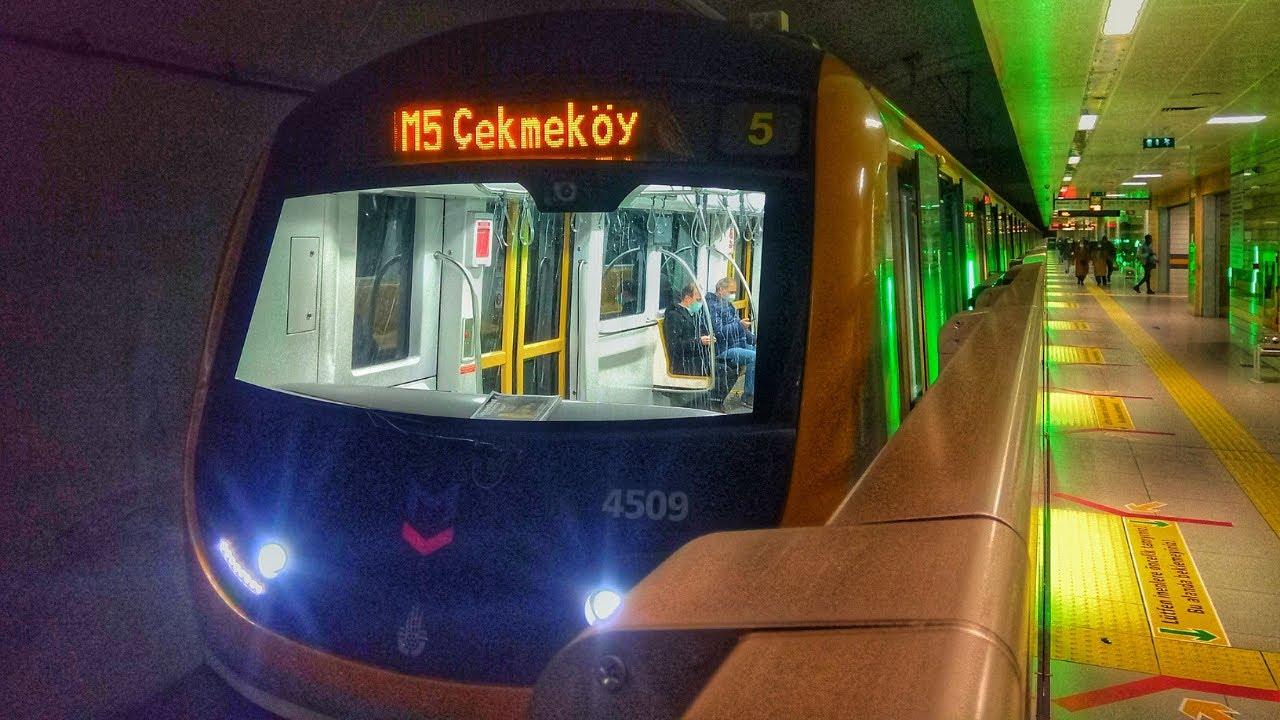 İstanbul Metrosunda Üsküdar - Çekmeköy Arasında Seyahat w/@the only way i'm going to go