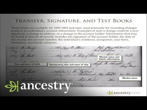 Emigrant Savings Bank Records | 5-Minute Find | Ancestry