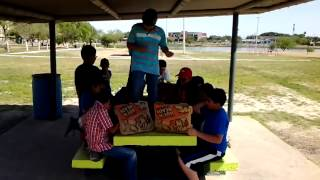 Harlem Shake At Maverick County Lake In Eagle Pass, Texas