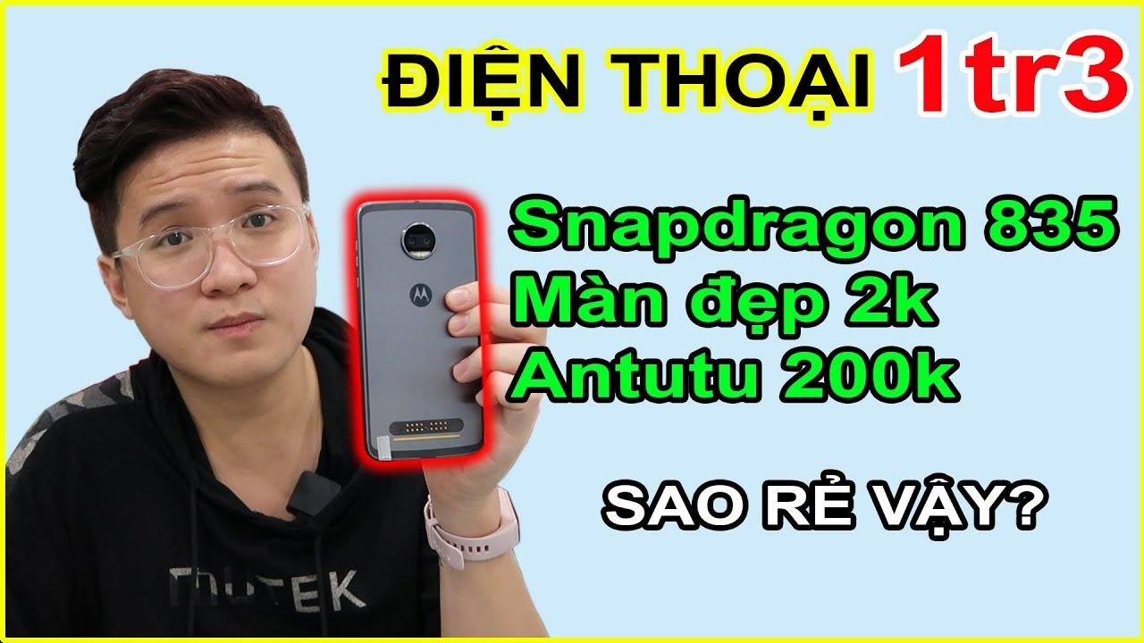 Mở hộp Điện thoại 1tr3 chip snapdragon 835, Màn hình 2k? Sự thật hay cú lừa? | MUA HÀNG ONLINE