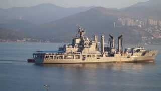 Korean Navy ship ROK Dae Cheong and Kang Gam Chan in Izmir 9 October 2015