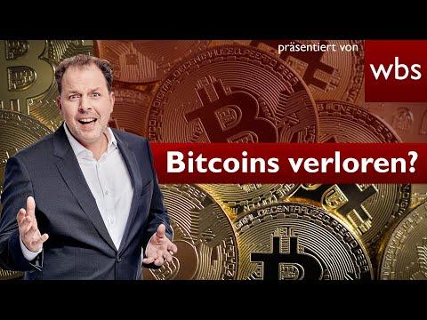Bitcoin-Passwort vergessen – 250 Millionen Euro futsch?