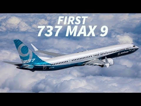 FIRST Boeing 737 MAX 9 DELIVERED to THAI LION AIR