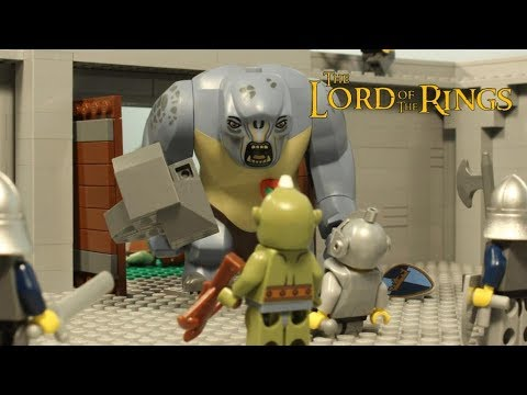 LEGO Cyclops - Lord Of The Rings Part II - Stopmotion