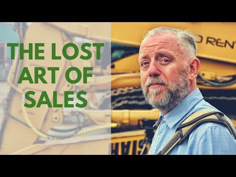 The Lost Art Of Construction Equipment Sales