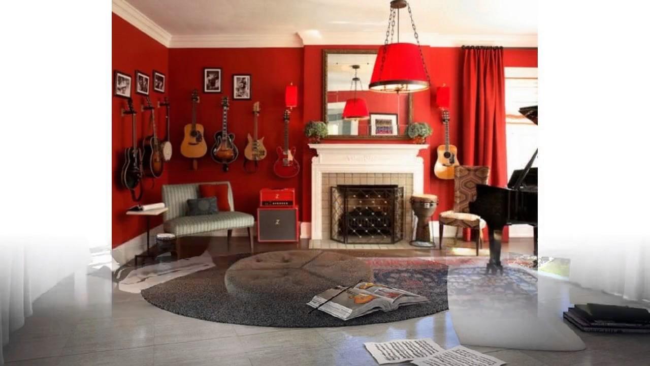 Ideas de decoracin de sala de msica  YouTube