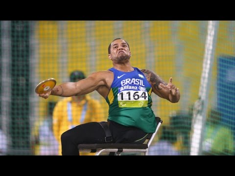 Men's discus F57 | final |  2015 IPC Athletics World Championships Doha