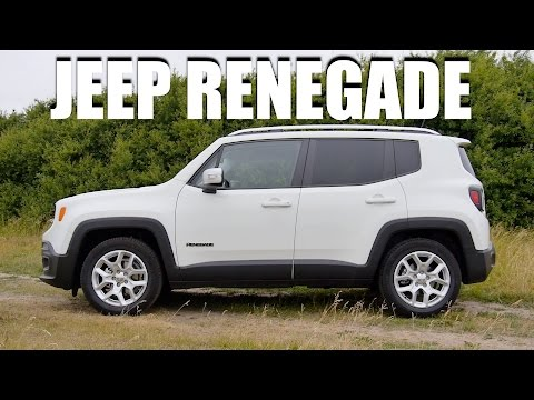 Jeep Renegade (ENG) - Test Drive and Review