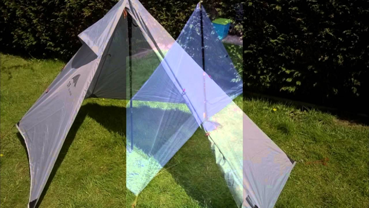3F UL gear pyramid tent . & 3F UL gear pyramid tent . - YouTube