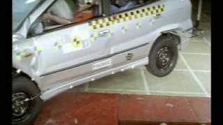 Nissan Almera Tino Euro NCAP crash test