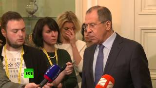 Moscow condemns blockade of Donbass, 'Normandy Four' colleagues support us   Lavrov