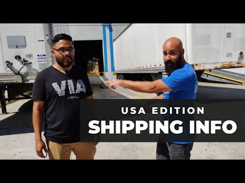 Shipping within the Continental USA